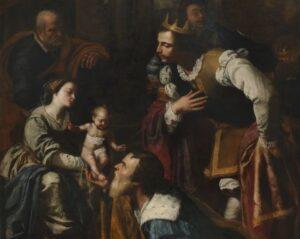 L'adorazione dei Magi di Artemisia Gentileschi