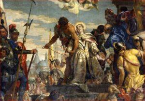 Anacronismi urbani - Il martirio di S. Giustina di Paolo Veronese