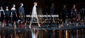Milano fashion week 17-23 settembre 2019