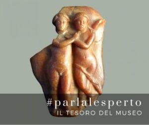 Amore e Psiche dalla collezione di ambre del Museo di Aquileia