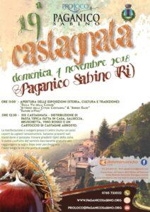 19^ Castagnata a Paganico Sabino (RI) - 4 novembre
